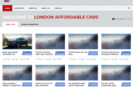 London Affordable Cars